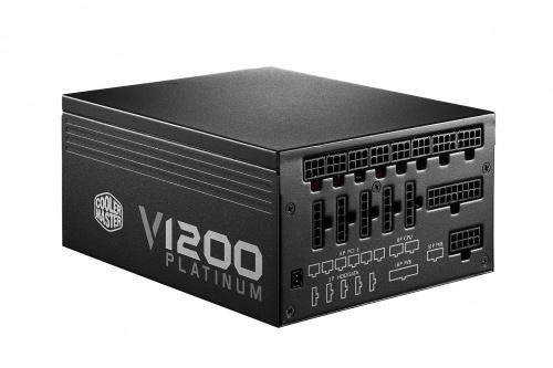 Fuente de Poder Cooler Master V1200 80-PLUS Platinum, 20+4 pin ATX, 1200W