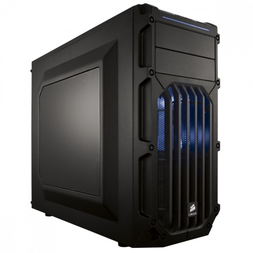 Gabinete Corsair Carbide SPEC-03 LED Azul, Midi-Tower, ATX/micro-ATX/mini-iTX, USB 3.0, sin Fuente, Negro