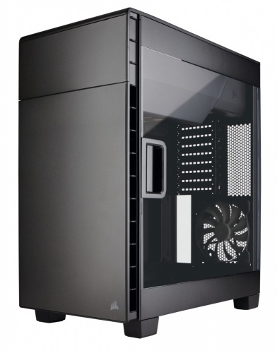 Gabinete Corsair Carbide Clear 600C con Ventana, Full-Tower, ATX, USB 2.0/3.0, sin Fuente, Negro