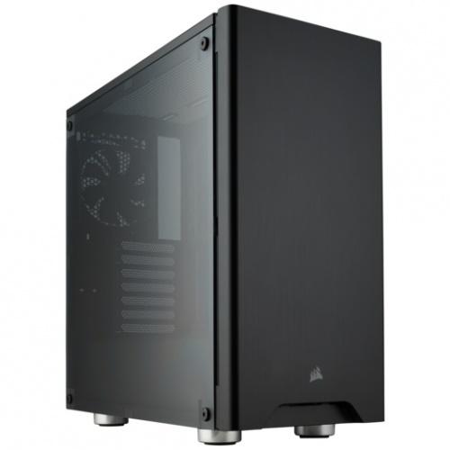 Gabinete Corsair Carbide 275R con Ventana, Midi-Tower, ATX/Micro-ATX/Mini-ITX, USB 3.0, sin Fuente, Negro