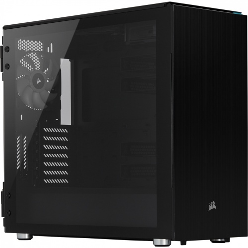Gabinete Corsair Carbide 678C con Ventana, Midi-Tower, ATX/EATX/Micro-ATX/Mini-ITX, USB 3.2, sin Fuente, Negro