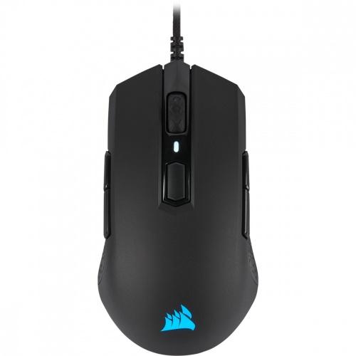 Mouse Gamer Corsair Óptico M55 RGB PRO, Alámbrico, USB, 12.400DPI, Negro