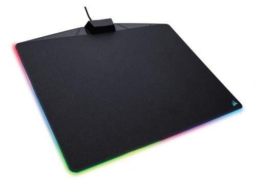 Mousepad Gamer Corsair MM800 RGB POLARIS, 26x35cm, Grosor 5mm, Negro