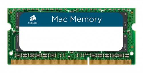 Memoria RAM Corsair DDR3, 1333MHz, 4GB, CL9, Non-ECC, SO-DIMM