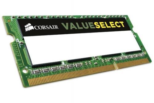 Memoria RAM Corsair ValueSelect DDR3L, 1600MHz, 2GB, SO-DIMM, 1.35v