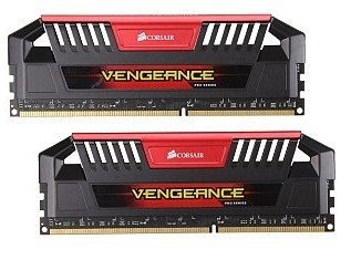 Kit Memoria RAM Corsair Vengeance Pro Red DDR3, 2400MHz, 16GB (2 x 8GB), CL13