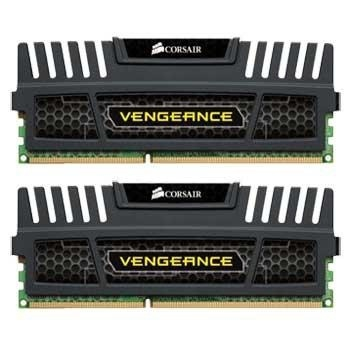 Kit Memoria RAM Corsair Vengeance DDR3, 1600MHz, 16GB (2 x 8GB), CL10, Non-ECC
