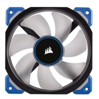 Ventilador Corsair Air ML120 PRO LED Azul de Levitación Magnética, 120mm, 400-2400RPM, Negro