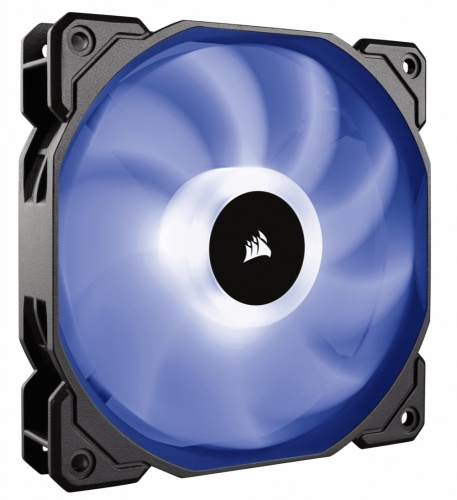 Ventilador Corsair SP120, 120mm, 1400RPM, Negro/Blanco