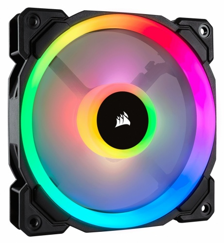 Ventilador Corsair LL120 RGB, 120mm, 600-1500RPM