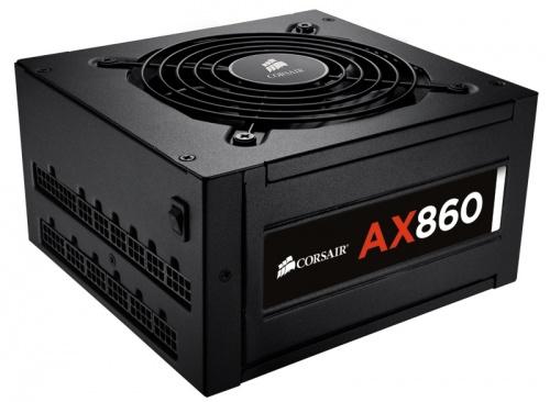 Fuente de Poder Corsair AX860, 24-pin ATX, 80-PLUS Platinum, 860W