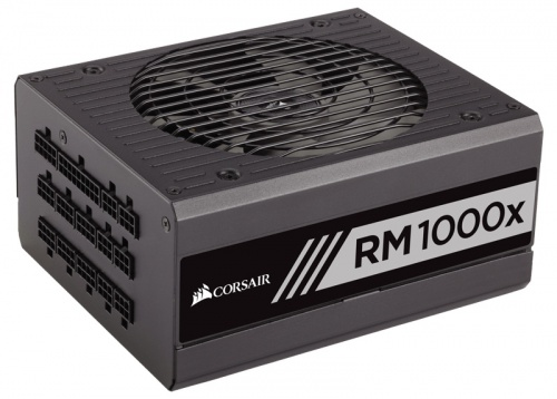 Fuente de Poder Corsair RM1000x 80 PLUS Gold, 24-pin ATX, 135mm, 1000W, Negro