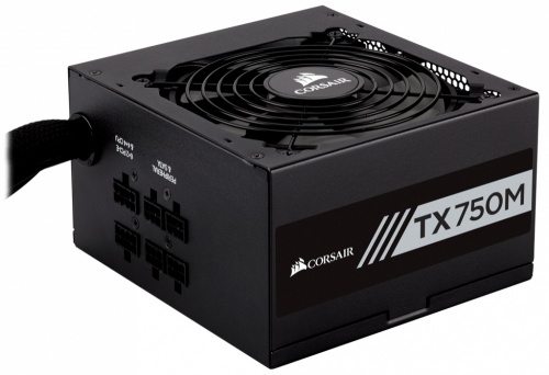 Fuente de Poder Corsair TX750M 80 PLUS Gold, 20+4 pin ATX, 140mm, 750W