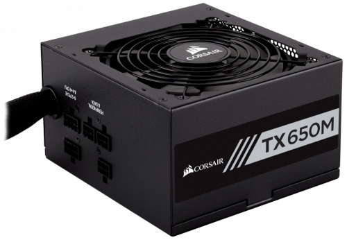 Fuente de Poder Corsair TX650M 80 PLUS Gold, 20+4 pin ATX, 120mm, 650W