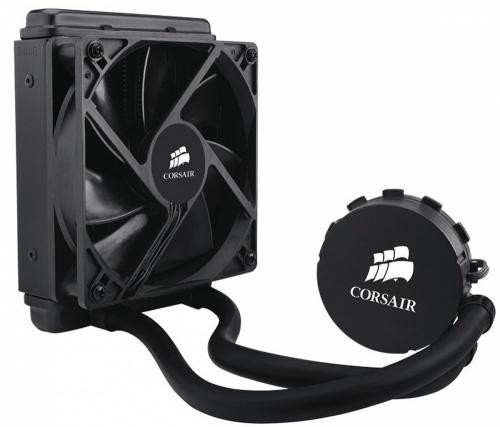 Corsair Hydro Series H55 Enfriamiento Líquido para CPU, 1x 120mm, 1700RPM