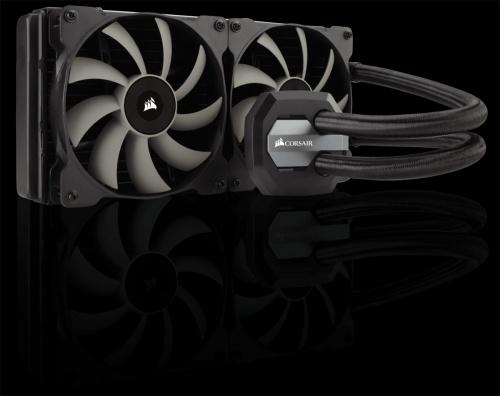 Corsair Hydro Series H115i Enfriamiento Líquido para CPU, 280mm, 2000 RPM
