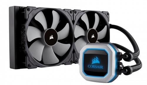Corsair H115i PRO Enfriamiento Liquido para CPU, 140mm, 1200RPM