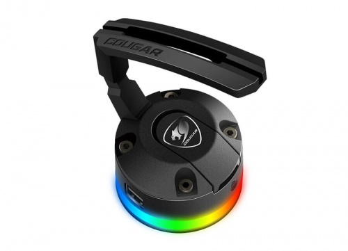 Mouse Bungee Cougar Bunker RGB, Negro