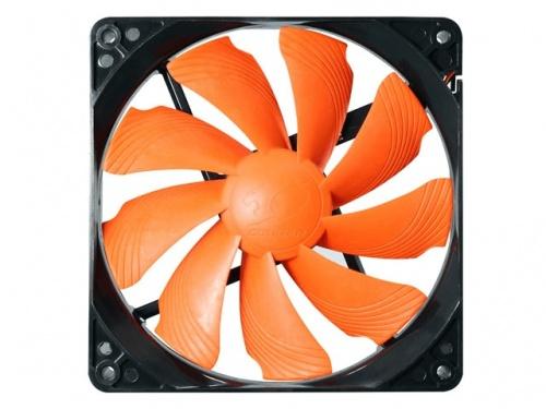 Ventilador Cougar CF-T14S, 140mm, 1000RPM, Negro/Naranja