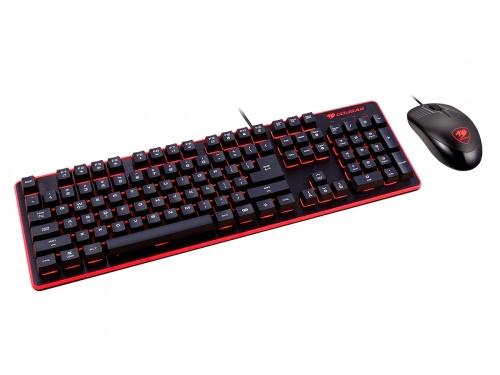 Kit Gamer de Teclado y Mouse Cougar DEATHFIRE, Alámbrico, USB, Negro (Español)