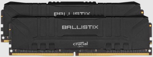 Kit Memoria RAM Crucial Ballistix Black DDR4, 2666MHz, 16GB (2 x 8GB), Non-ECC, CL16, XMP, 1.35V