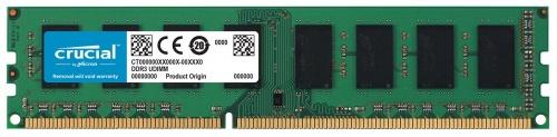 Memoria RAM Crucial pc3l-12800 DDR3, 1600MHz, 8GB, Non-ECC, CL11, 1.35v