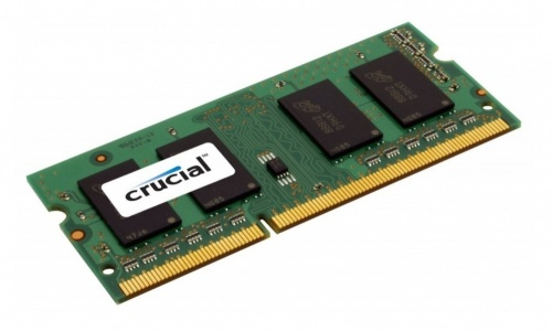 Memoria RAM Crucial DDR3L, 1600MHz, 8GB, CL11, Non-ECC, SO-DIMM, 1.35v