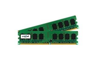 Memoria RAM Crucial CT2KIT12864AA800 DDR2, 800MHz, 2GB, Non-ECC, CL6