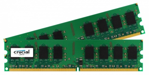 Kit Memoria RAM Crucial CT2KIT25664AA800 DDR2, 800MHz, 4GB (2 x 2GB), Non-ECC, CL6