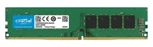 Memoria RAM Crucial DDR4, 2400MHz, 4GB, Non-ECC, CL17, Single Rank x8