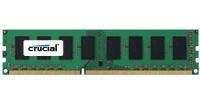 Memoria RAM Crucial PC3-12800 DDR3, 1600MHz, 4GB, Non-ECC, CL11, 1.35V