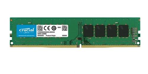 Memoria RAM Crucial DDR4, 2666MHz, 8GB, Non-ECC, CL19