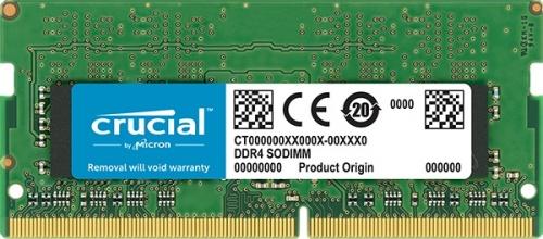 Memoria RAM Crucial DDR4, 2666MHz, 8GB, Non-ECC, CL19, SO-DIMM