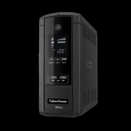 No Break CyberPower BRG850AVRLCD, 510W, 850VA, Entrada 90-148V, 10 Contactos