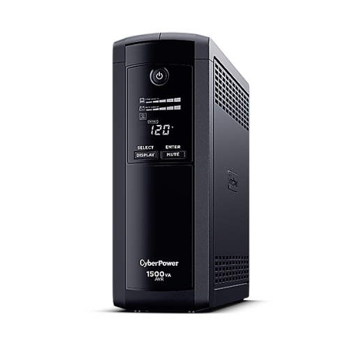 No Break CyberPower CP1500AVRLCD, 900W, 1500VA, 8 Contactos