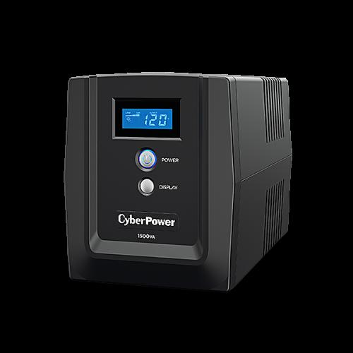 No Break CyberPower CyberEnergy OM1500ATLCD, 900W, 1500VA, Entrada 82-148V, 8 Contactos