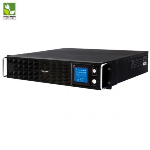 No Break CyberPower PR1500ELCDRTXL2U Smart App Sinewave LCD UPS Line Interactive, 1125W, 1500VA, Salida 240V