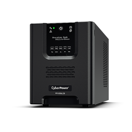 No Break CyberPower PR1500LCD, 1500W, 1500VA, Entrada 75-154V, 8 Contactos