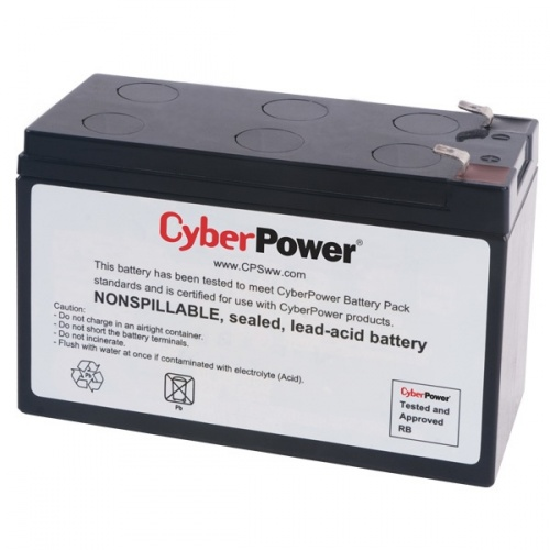 CyberPower Batería Externa para No Break RB1270, 12V, 7000mAh