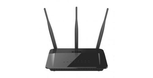 Router D-Link Fast Ethernet DIR-809 AC750, 750 Mbit/s, 2.4/5GHz, 4x RJ-45, 3 Antenas Externas