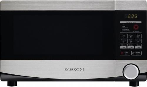 Daewoo Horno de Microondas KOR-6L4B, 700W, 20 Litros, Acero Inoxidable