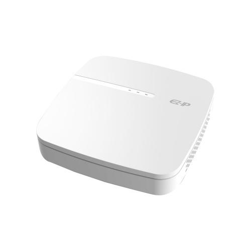 Dahua NVR de 4 Canales NVR1B04-4P/L para 1 Disco Duro, máx. 6TB, 2x USB 2.0, 1x RJ-45