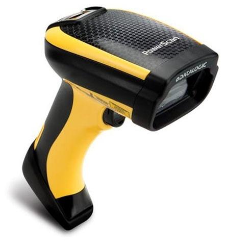 Datalogic PowerScan PM9500 Lector de Código de Barras 1D/2D - incluye Cable USB, Base y Fuente de Poder
