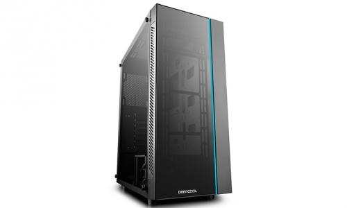 Gabinete DeepCool MATREXX 55 con Ventana RGB, Midi-Tower, ATX/EATX/Micro-ATX/Mini-ITX, USB 3.0/2.0, sin Fuente, Negro
