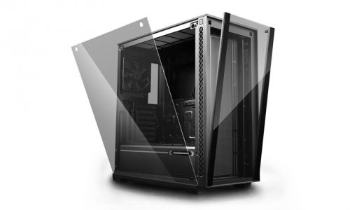 Gabinete DeepCool MATREXX 70, Midi-Tower, ATX/EATX/Micro-ATX/Mini-ITX, USB 3.0/2.0, sin Fuente, Negro