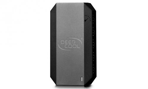 DeepCool Hub para 10 Ventiladores FH-10, Negro