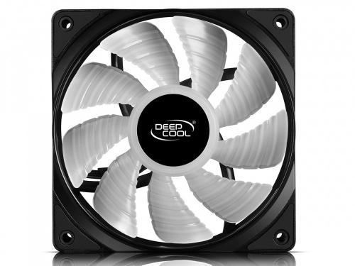 Ventilador DeepCool RF 120 RGB, 500 - 1500RPM, Negro