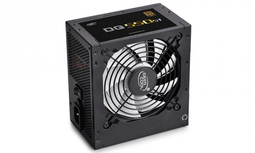 Fuente de Poder DeepCool DQ550ST 80 PLUS Gold, ATX, 120mm, 550W