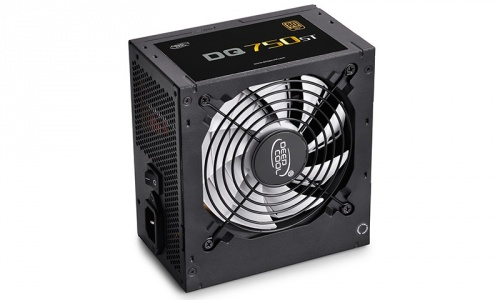 Fuente de Poder DeepCool DQ750ST 80 PLUS Gold, ATX, 120mm, 750W