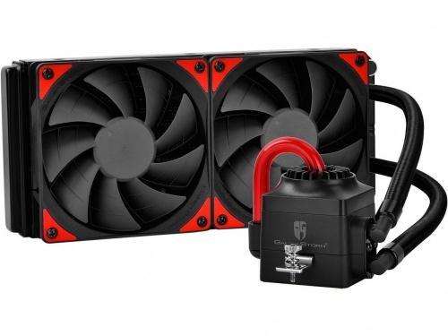 DeepCool Captain 240 EX Enfriamiento Liquido para CPU, 120mm, 500 - 1800RPM